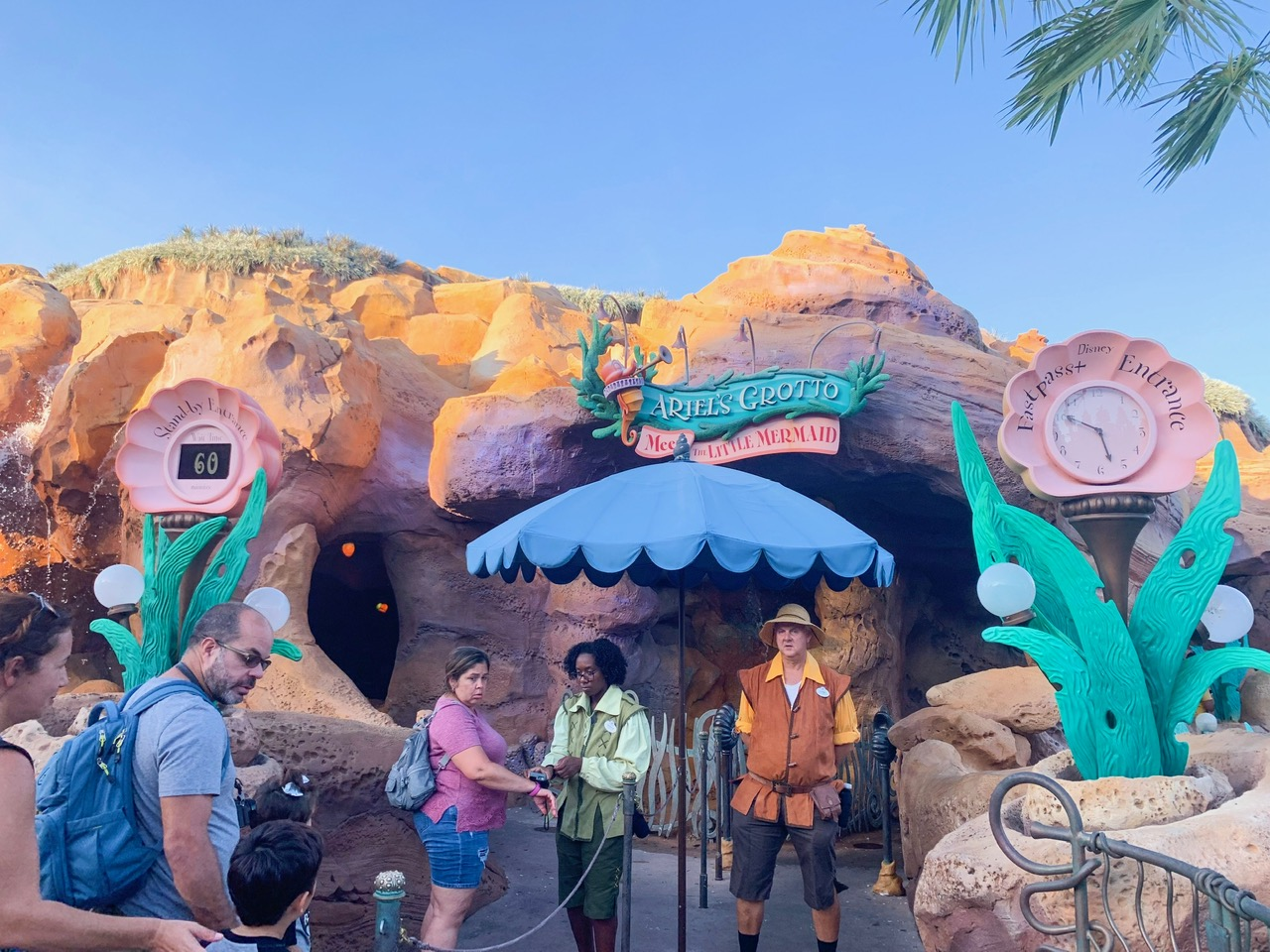 Ariel's Grotto Meet and Greet at Magic Kingdom is a great Fastpass option