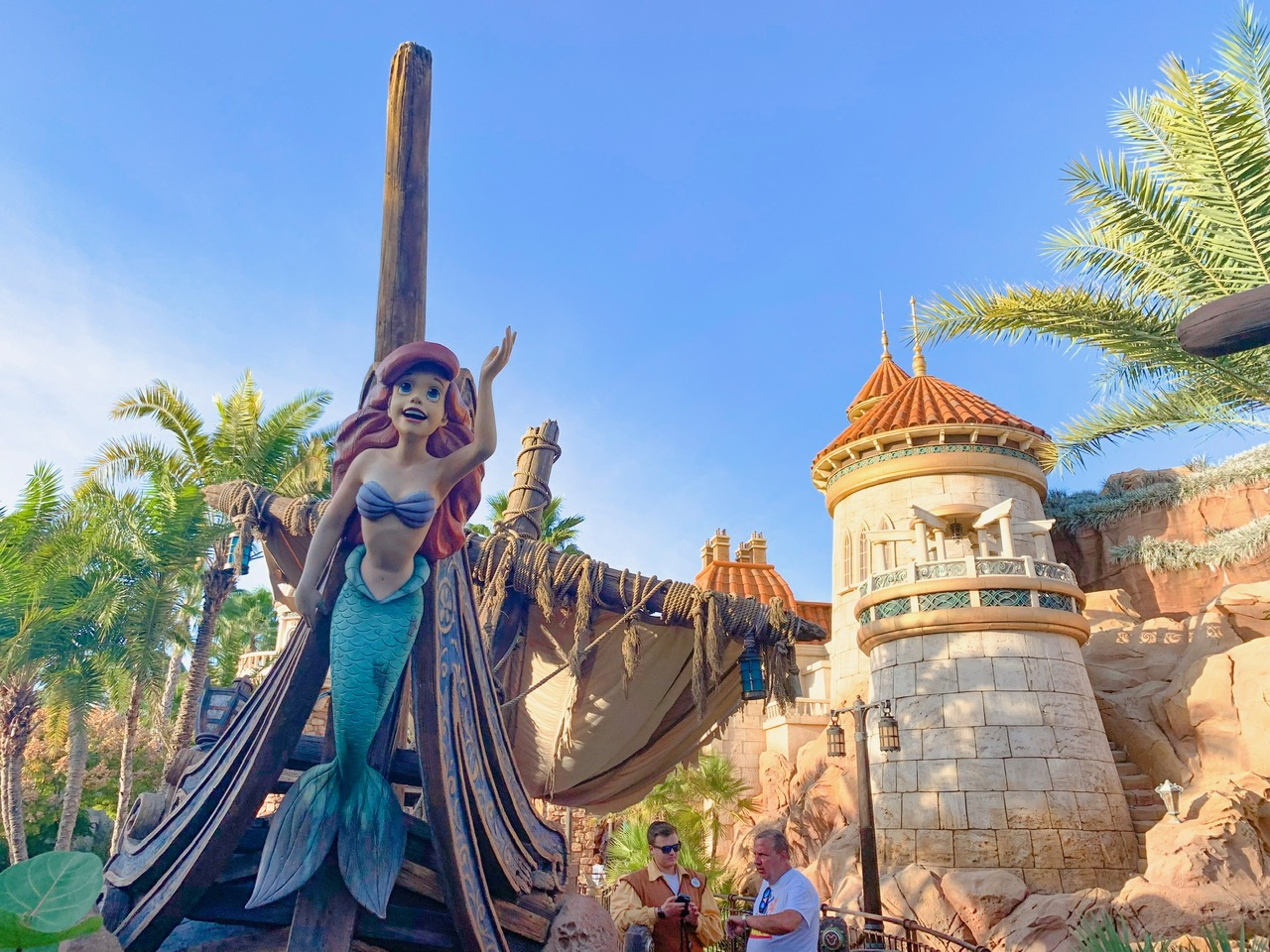Voyage Into the Little Mermaid ride at Magic Kingdom