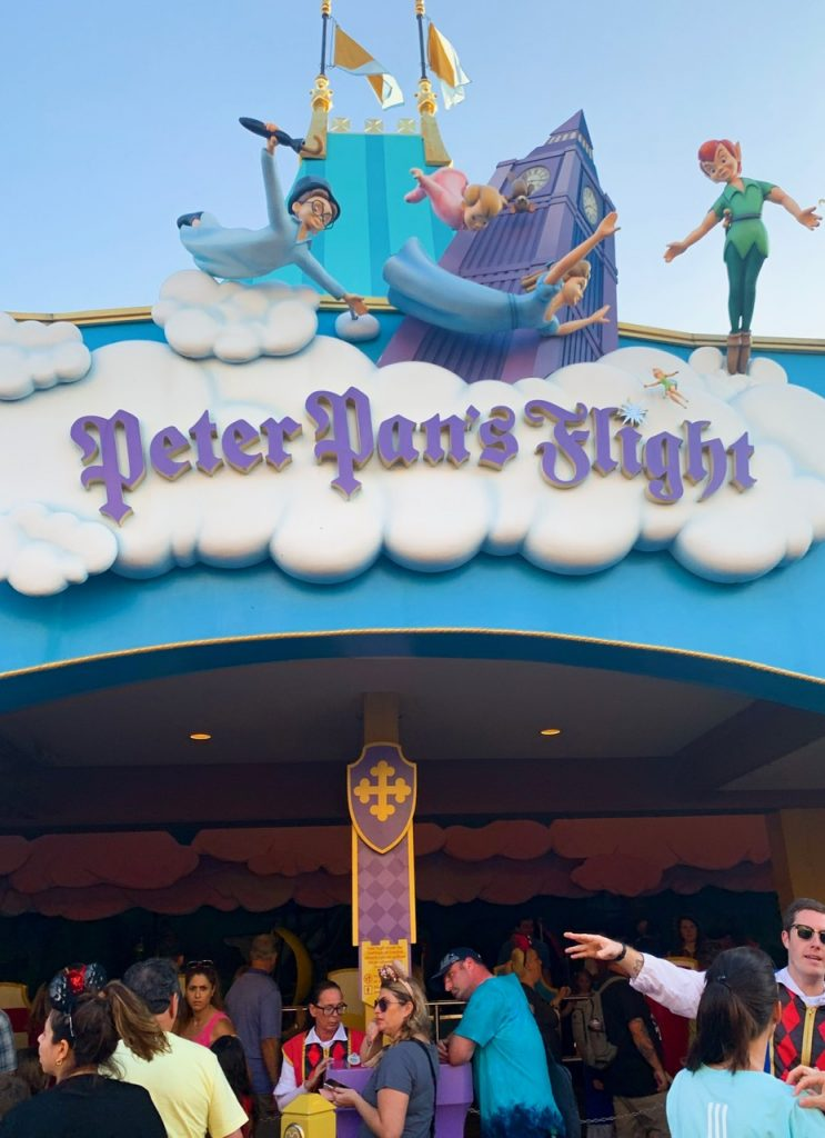Peter Pan's Flight is one of the best rides at Magic Kingdom