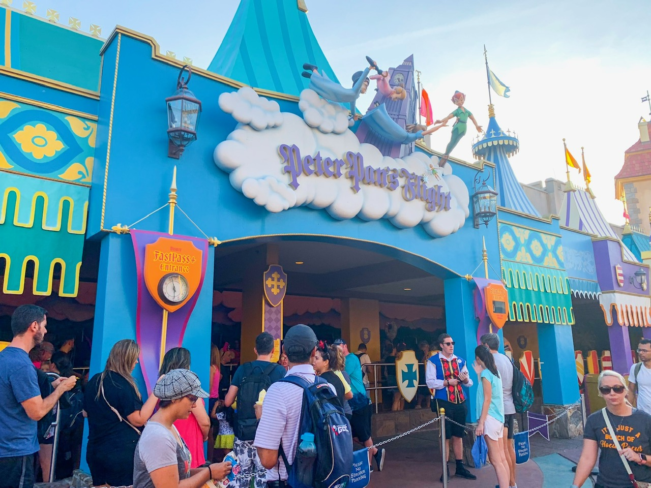 Peter Pan's Flight is one of the hardest Magic Kingdom fastpass options to get | best Disney fastpasses