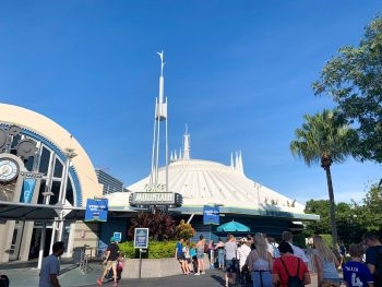 Space Mountain is one of the best uses of a magic kingdom fastpass