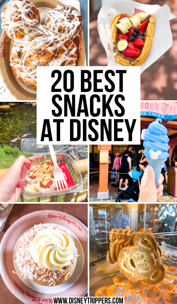 20 Best Snacks At Disney | Best Disney snacks to try at the parks | what to eat at Disney | best food at Disney | good food at Disney | what snacks to try at Disney | best Disney snacks to use with your Disney dining plan credit | disney travel tips | walt disney world trip tips #disneysnacks #disneyfood