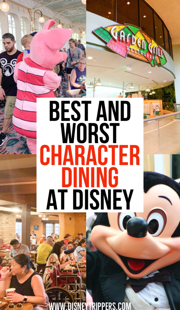 Best And Worst Character Dining At Disney World | 12 Best [and Worst!] Disney World Character Dining Locations | top character meals at Disney | where to eat on the Disney dining plan | disney dining tips | tips for where to eat at Walt Disney World | tips for eating out at Disney World in Florida #disney
