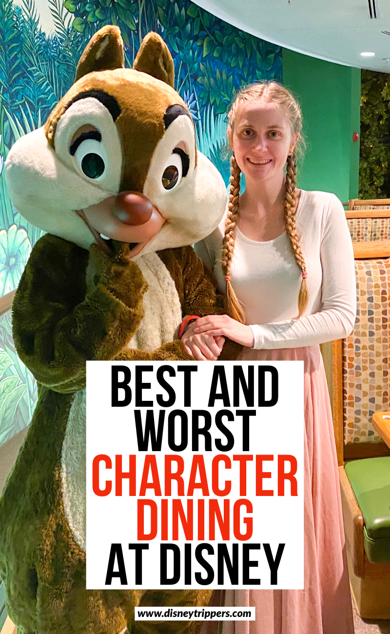 Best And Worst Character Dining At Disney World | 12 Best [and Worst!] Disney World Character Dining Locations | best character breakfasts at Disney World | tips for the best character dining options at Disney World | Disney world character dining options | tips for planning a trip to Disney | Disney dining planning tips for character dining | where to eat at Disney with disney characters #disney