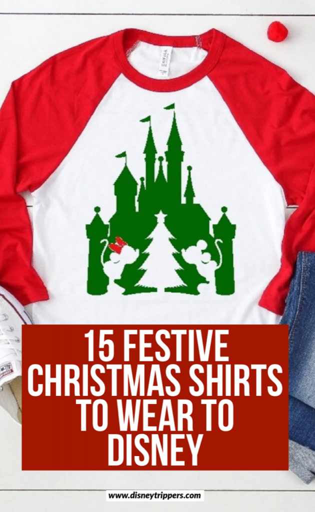 15 Festive And Hilarious Disney Christmas Shirts | cute shirts for Disney | what to wear to Disney world during Christmas | cute family christmas shirts | what to pack for Disney at Christmas | Disney packing list for Christmas vacation | disney christmas outfits #disney