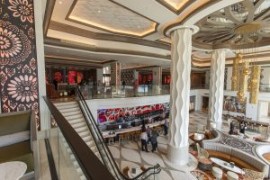 gran destino tower lobby