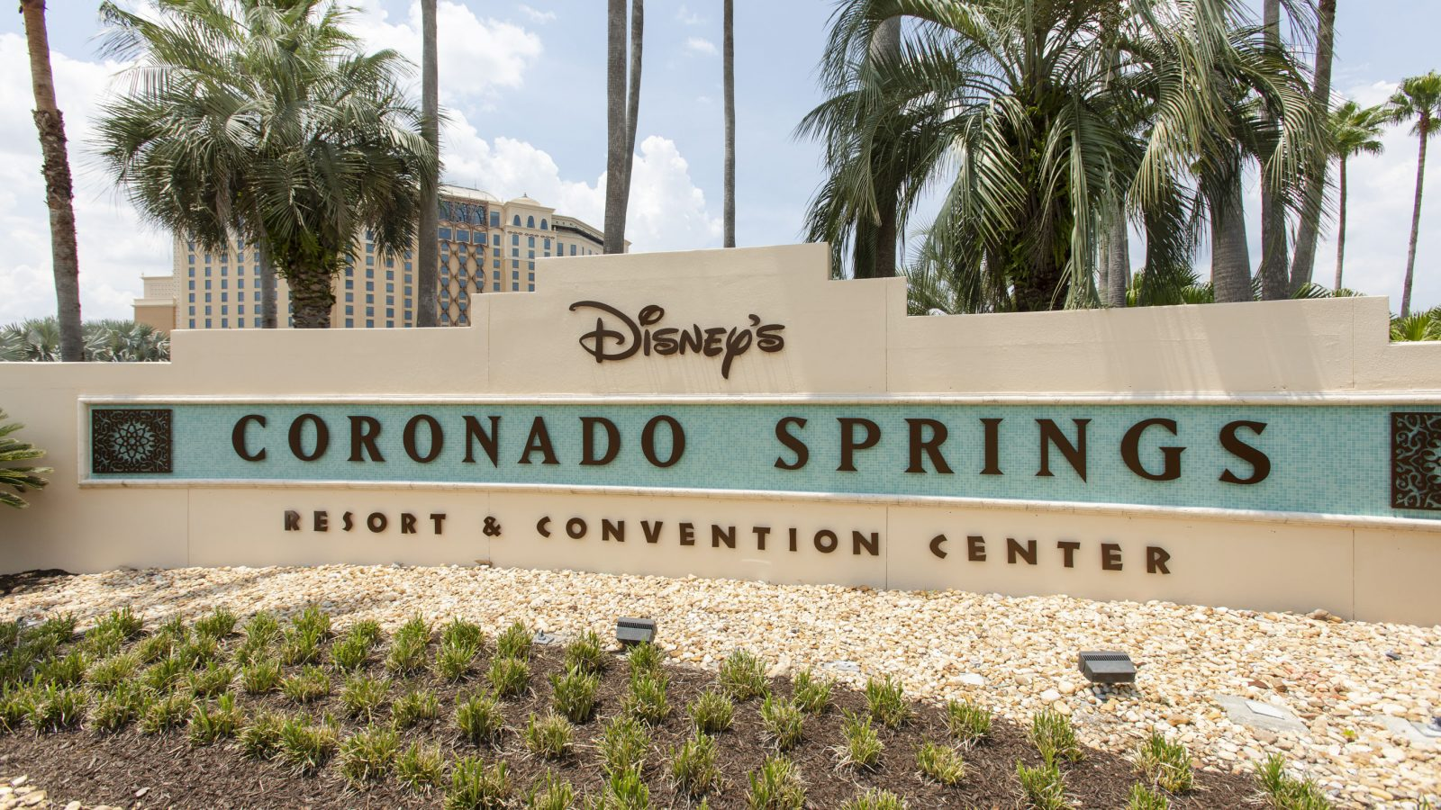 Disney Coronado Springs Resort sign