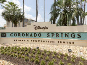 Disney Coronado Springs Resort sign