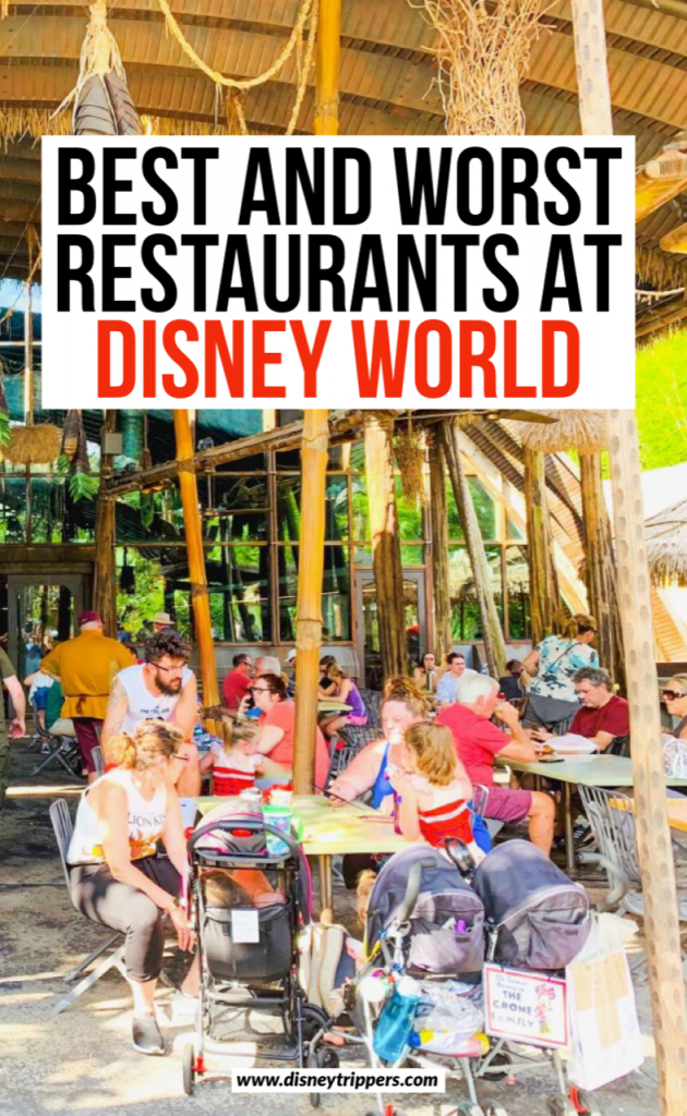 Best And Worst Restaurants At Disney World | 33 Best (and Worst!) Disney World Restaurants | tips for dining at Disney | Disney restaurants ranked | tips for eating at Disney | best food at Disney | tips for planning a trip to Disney World | where to eat at Disney | Disney vacation tips #disney #disneyfood