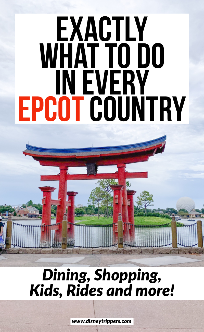 Exactly What To Do In Every Epcot Country | What To Do At Every Country In Epcot (Dining, Rides, Kids, and more!) | The ultimate guide to doing the Epcot World Showcase | best tips for visiting Epcot | best things to do at Epcot in Disney World | Disney world travel tips for Epcot | best Epcot countries to visit #epcot #disney