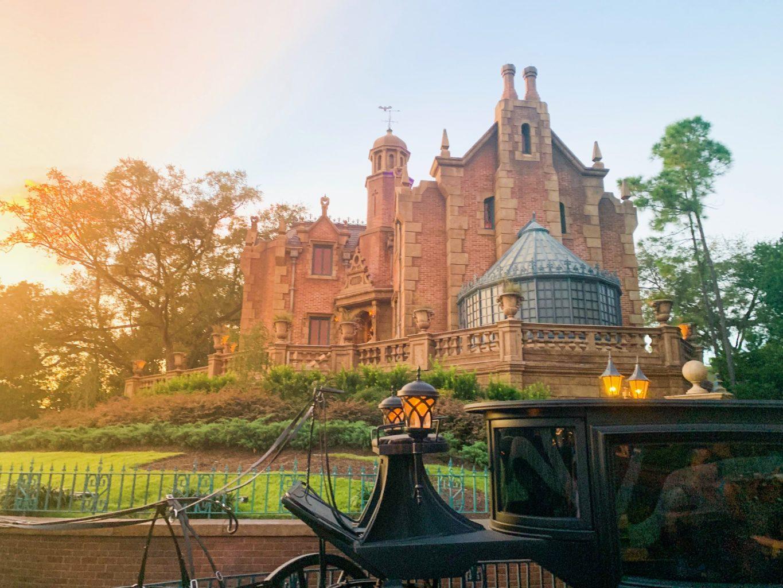 haunted mansion exterior