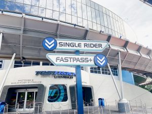 test track single rider line