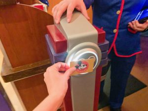 tapping physical disney ticket