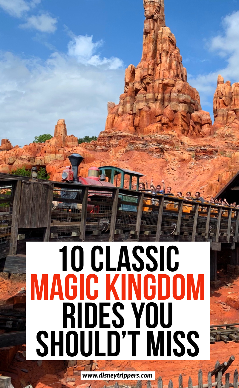 10 Classic Magic Kingdom Rides You Shouldn't Miss At Disney World | 10 Best Magic Kingdom Rides And Attractions Not To Miss | best rides at Magic Kingdom | tips for visiting Magic Kingdom | top things to do at Magic Kingdom | best Magic Kingdom Attractions | Disney travel tips | tips for planning a Disney vacation #disney #magickingdom