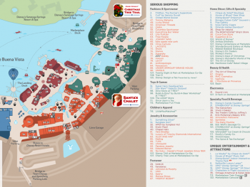 Official Disney Springs Map