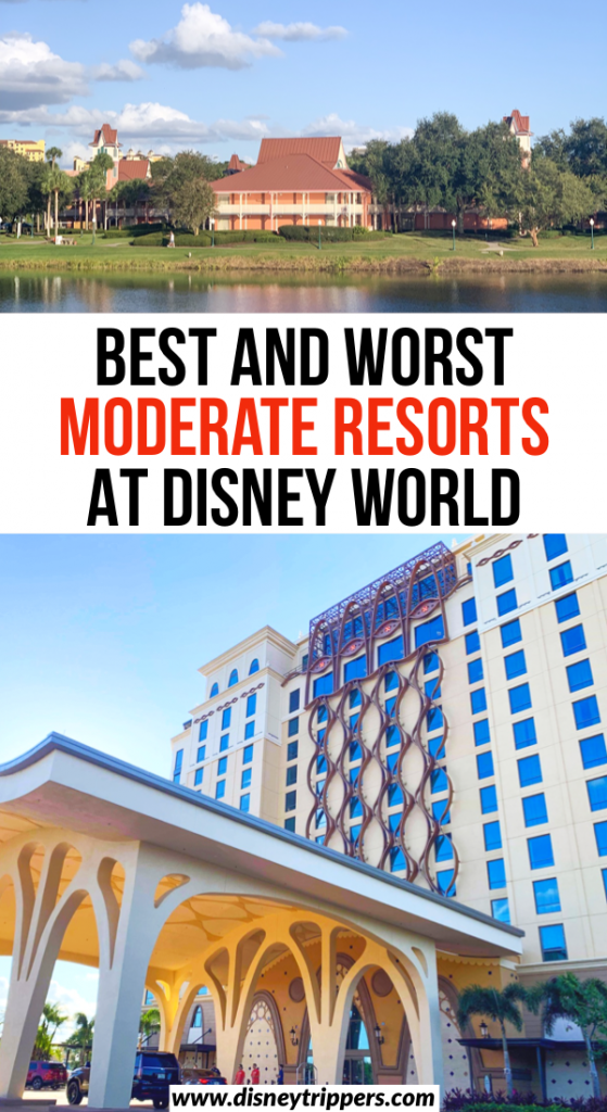 Best And Worst Moderate Resorts At Disney World | Moderate hotels at Disney World | what is the best moderate resort at Walt Disney World? | where to stay at Disney world | best hotels at Disney world that are affordable | tips for visiting Disney World | best hotels at Disney | Disney travel tips #disney