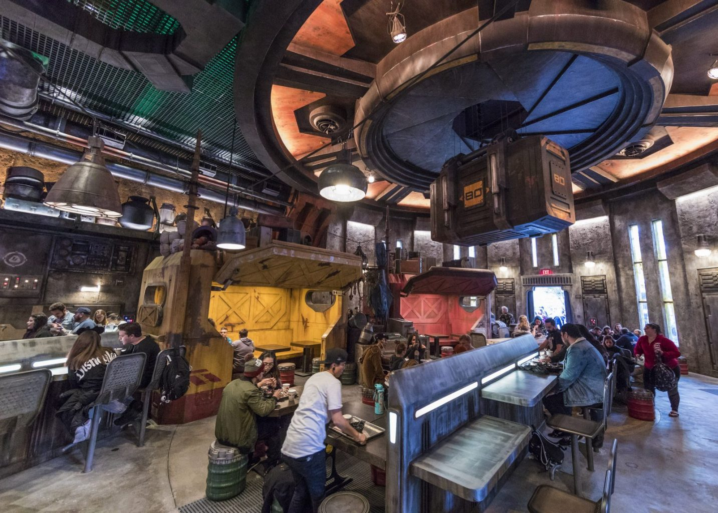 Inside Docking Bay 7, a new Star Wars themed Disneyland Restaurant