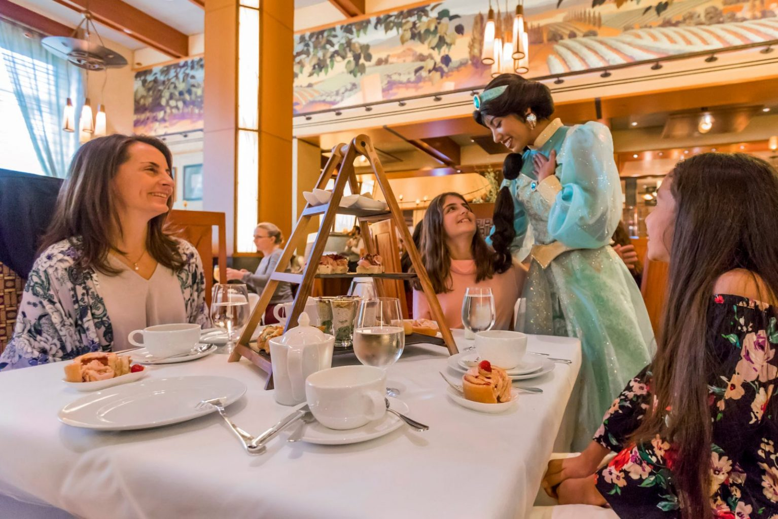 A Princess Breakfast at Napa Rose, a luxurious Disneyland restaurant