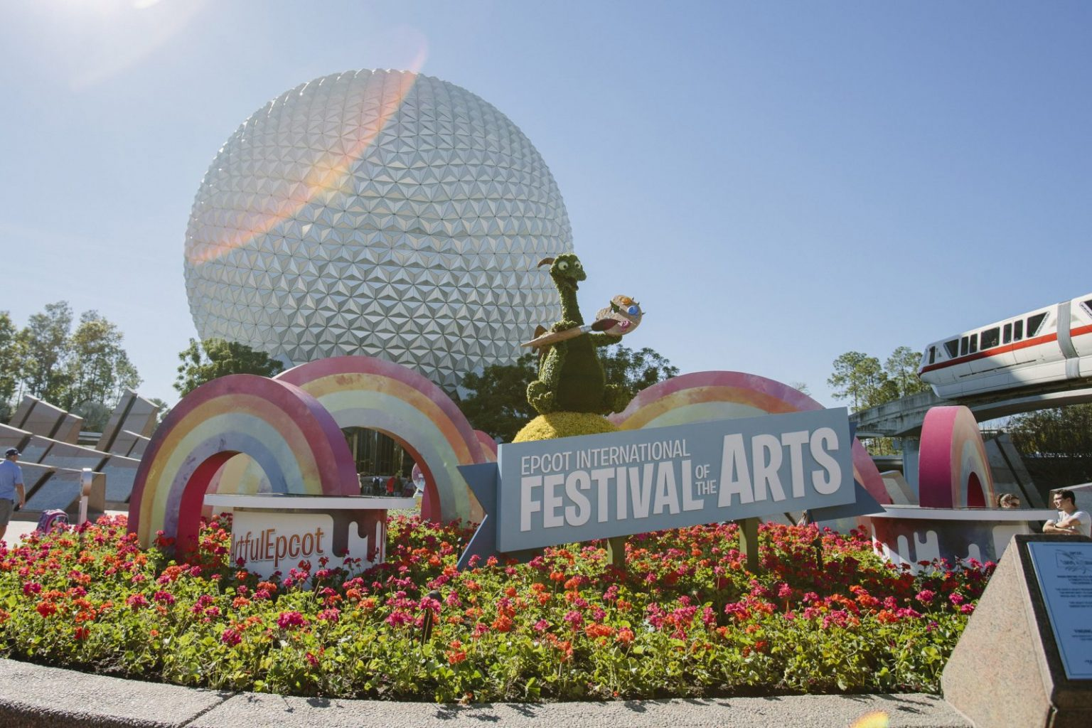 Entrance to the Epcot Festival Of The Arts
