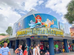 Hollywood Studios Fastpass Exterior Main Entrance for Voyage of Little Mermaid