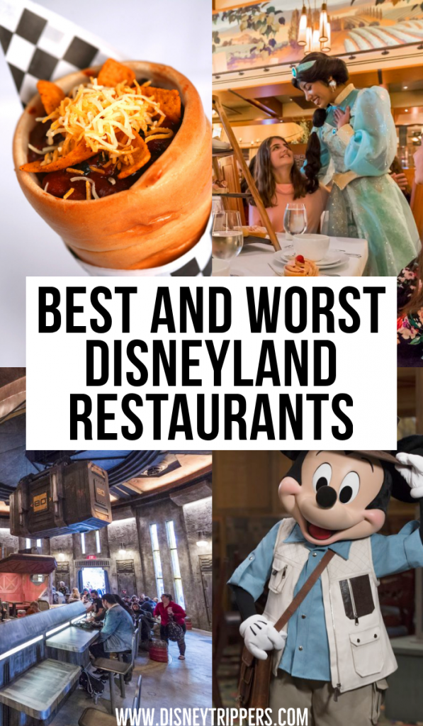 20 Best and Worst Disneyland Restaurants | Restaurants At Disneyland Ranked Best To Worst | 21 Best (And Worst!) Disneyland Restaurants You Won't Want To Miss | Where to eat at Disneyland | Best Food at Disneyland | dining at Disneyland California | where to eat at Disneyland | things to know before eating at disneyland | Disney dining tips | tips for planning a trip to Disneyland #disneyland