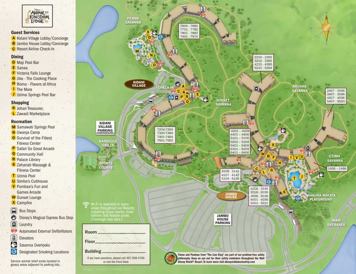 Every Official Disney World Map All In One Place - Disney ...