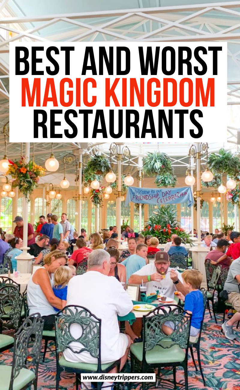 Best And Worst Magic Kingdom Restaurants | 16 Best (And Worst!) Magic Kingdom Restaurants | best food at Magic Kingdom in Disney World | Best food at Disney World | where to eat at Magic Kingdom | best magic kingdom dining plans | dining tips for Magic Kingdom | tips for where to eat at Disney #disney #magickingdom