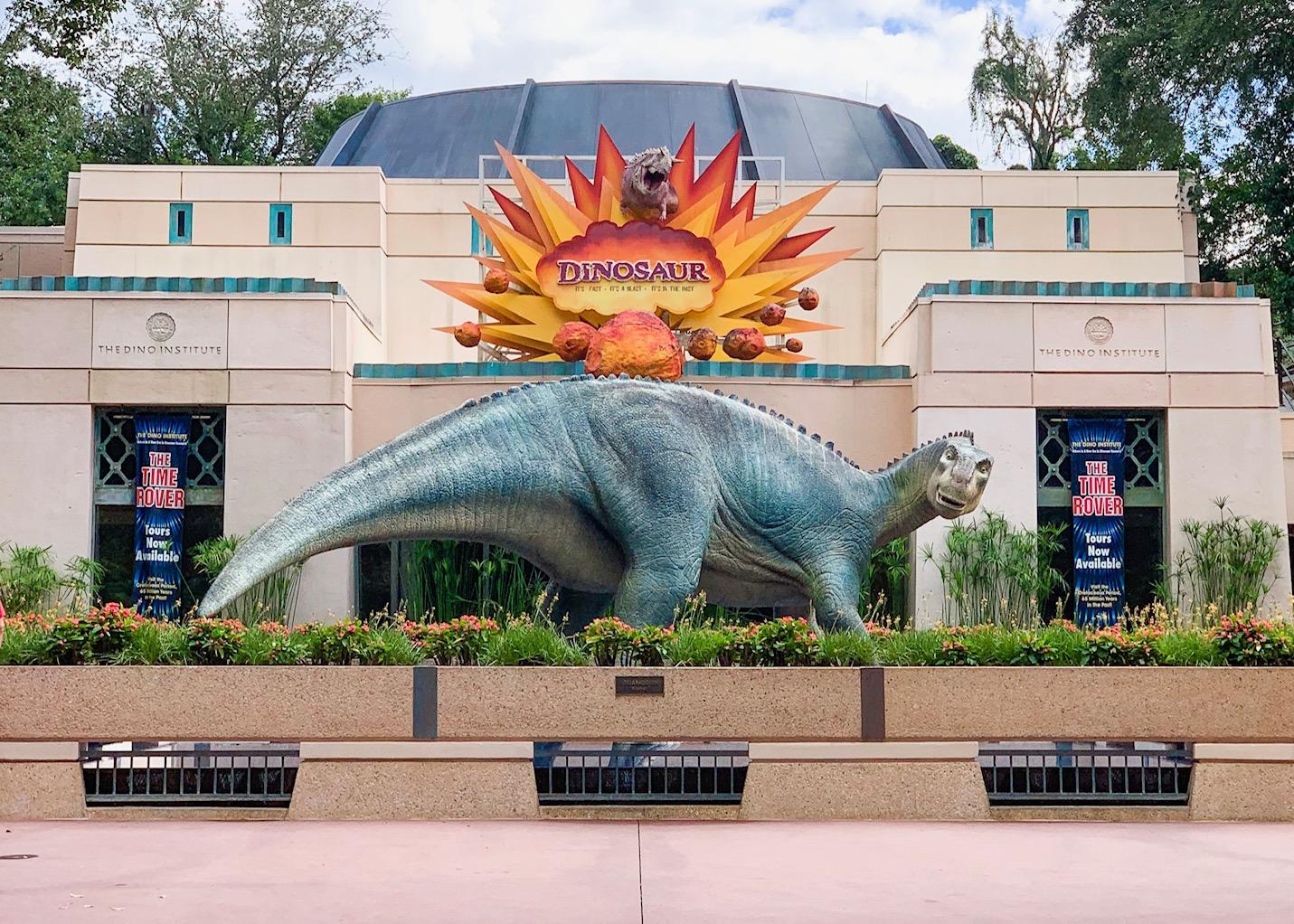 Entrance to Dinosaur ride at Disney's Animal Kingdom