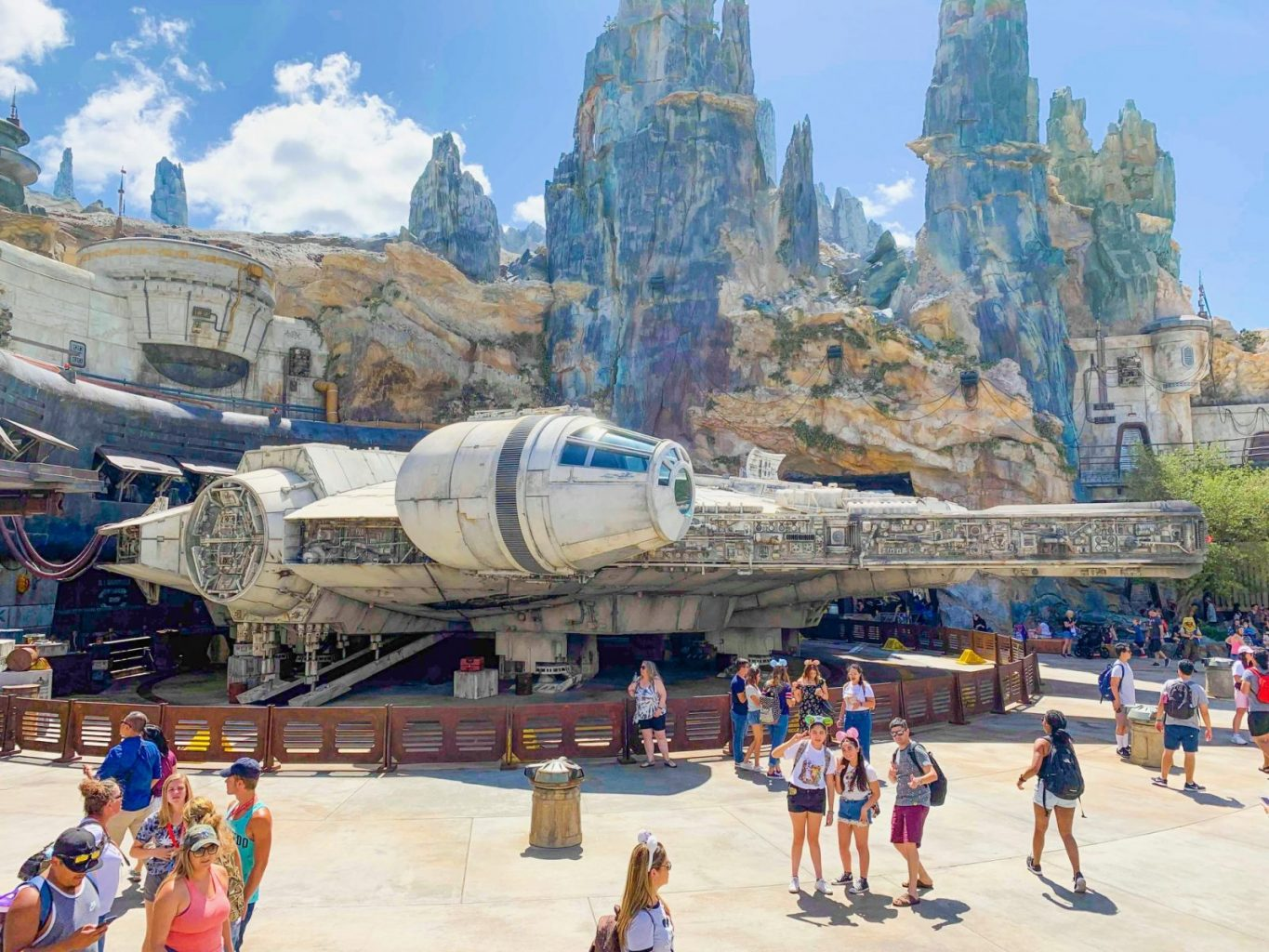 Smugglers Run is one of the best Disney rides for Tweens