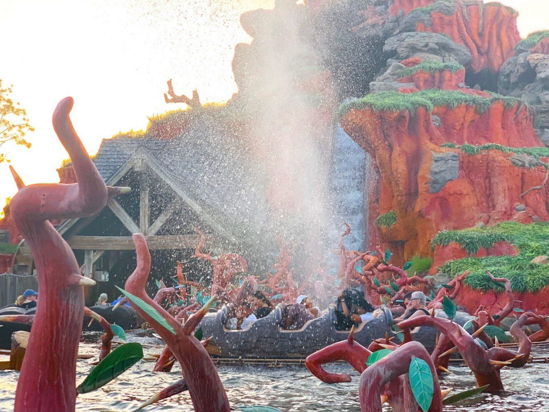 Splash Mountain tops this list of the best rides at Walt Disney World