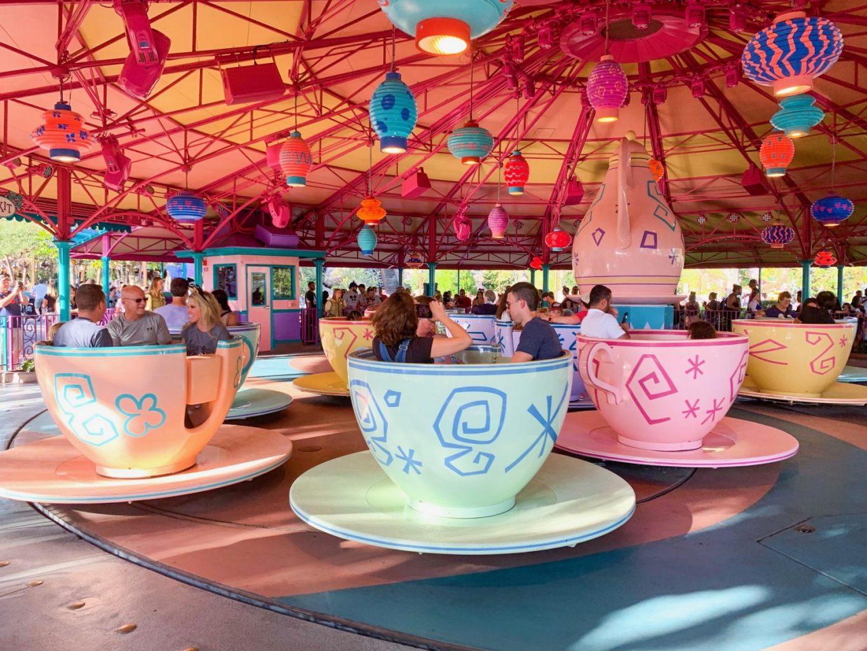 Teacups ride at Magic Kingdom