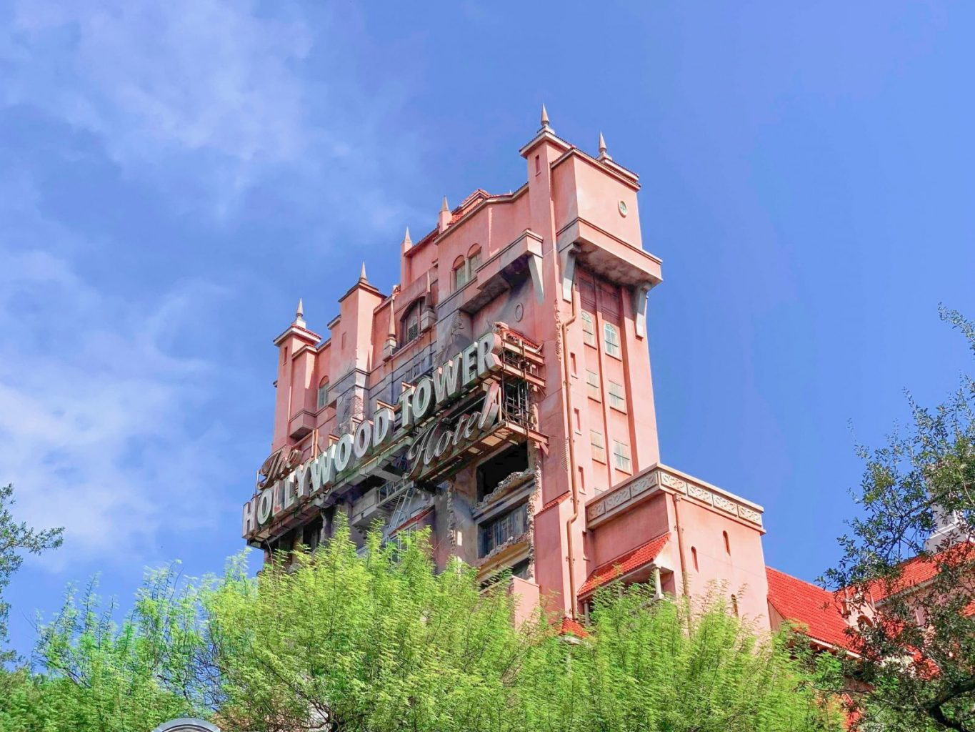 Tower Of Terror classic Hollywood Studios ride