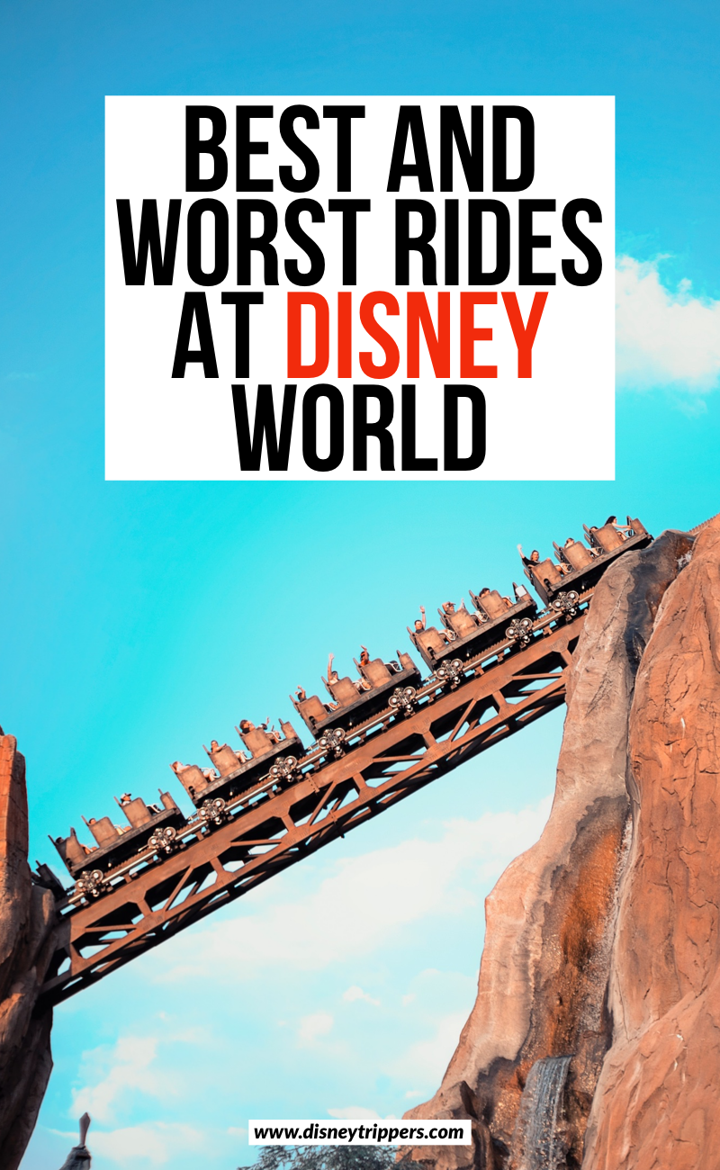 Best And Worst Rides At Disney World | what are the best Disney World Rides | tips for which rides at the best at Walt Disney World | which rides to skip at Disney World | tips for planning a trip to Disney World | Disney world travel tips | disney park touring tips #disney
