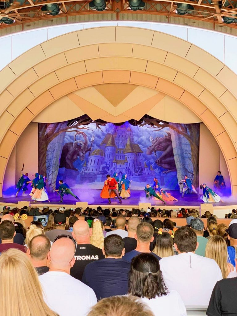 Hollywood Studios Fastpass Beauty and the Beast Live