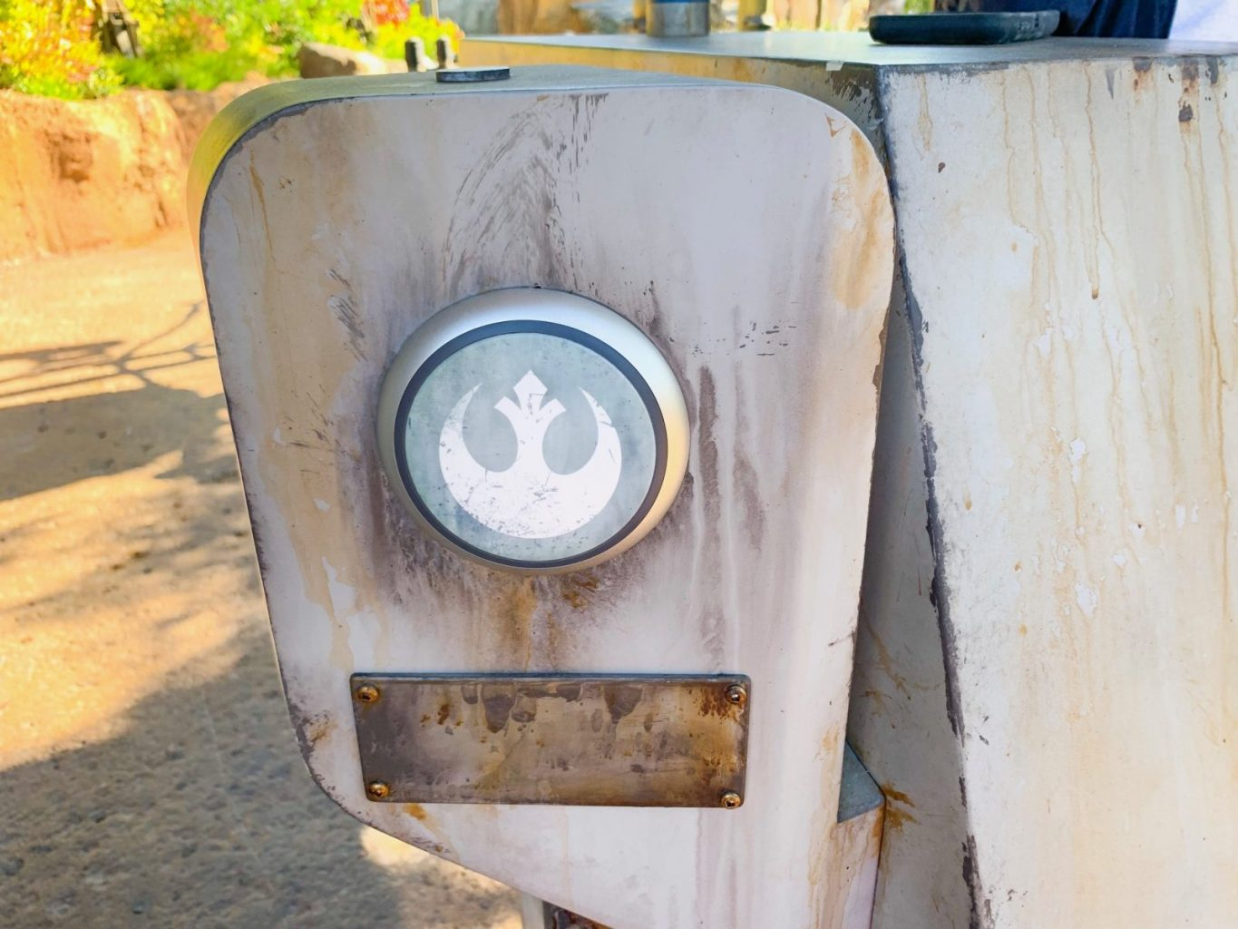 upcoming fastpass kiosk for Star Wars Ride At Disney World
