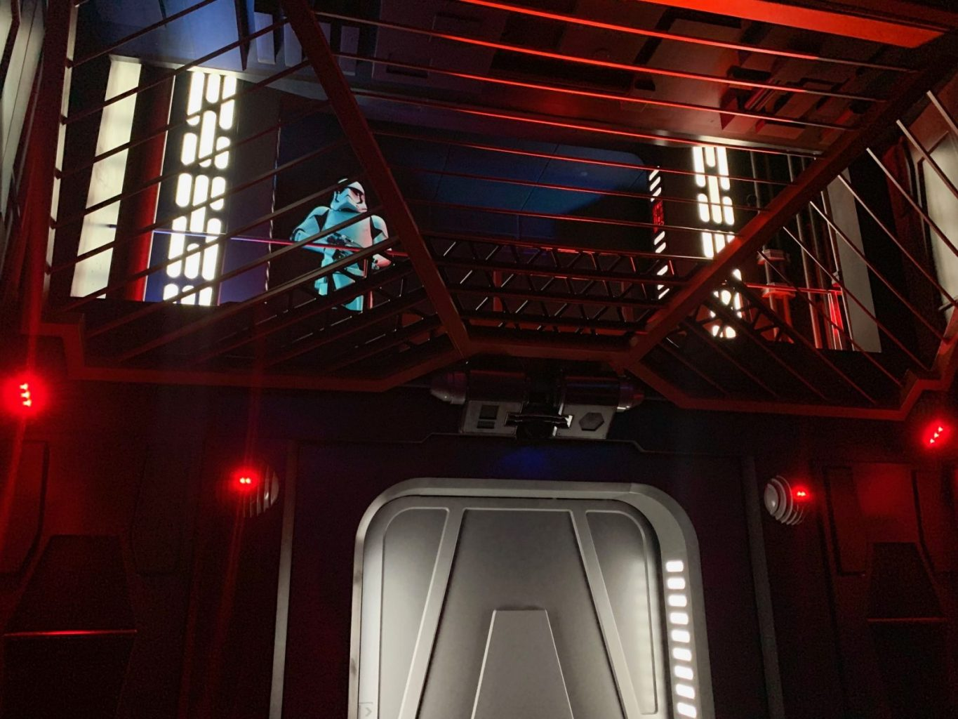 The interrogation room at Rise Of The Resistance
