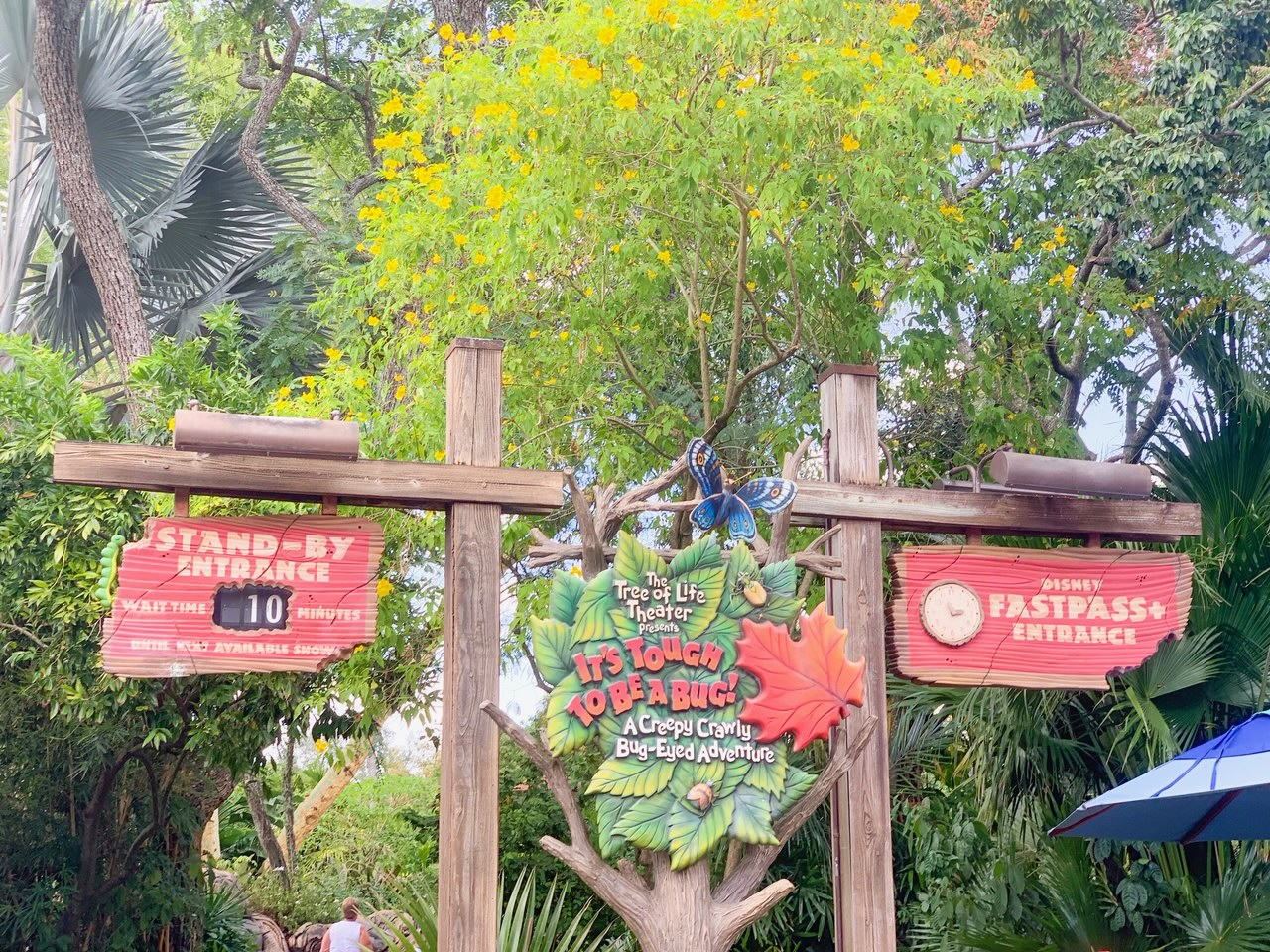 it's tough to be a bug at animal kingdom park