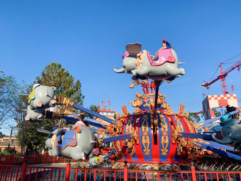 Dumbo is a great Disney ride for preschoolers