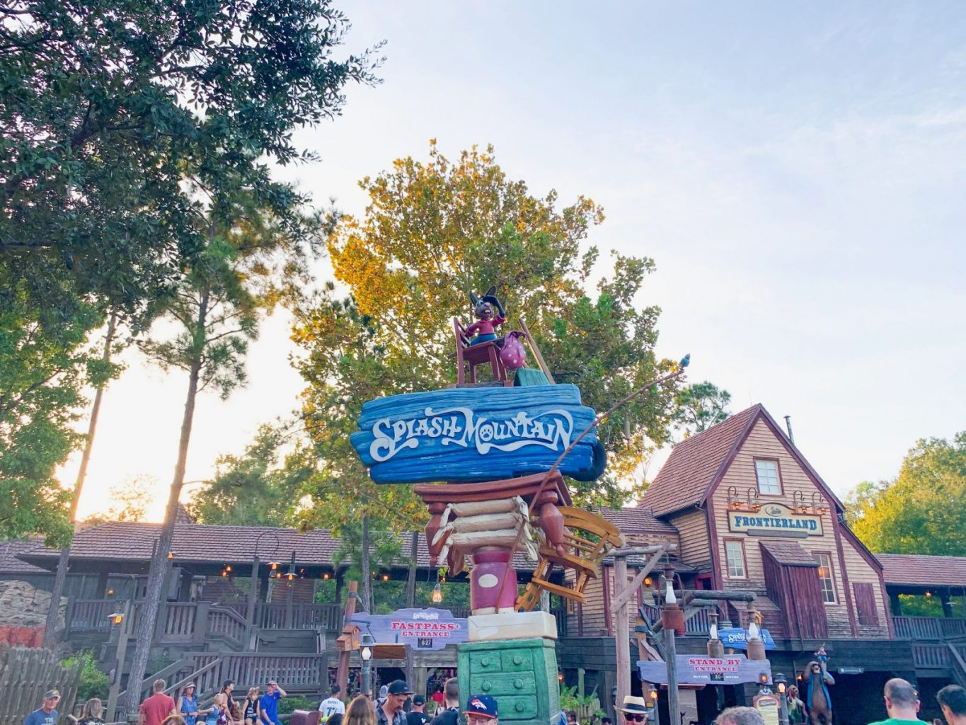 splash mountain is one of the best rides at Disney for bigger kids