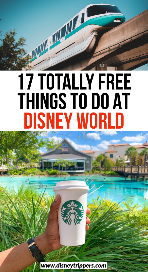 17 Totally Free Things To Do At Disney World | cheap things to at Disney World | Disney world tips | how to visit Disney for free | free tips and tricks for Disney world | how to plan your Disney vacation for cheap | how to save money at disney world | top free activities at Disney #disney #disneyworld