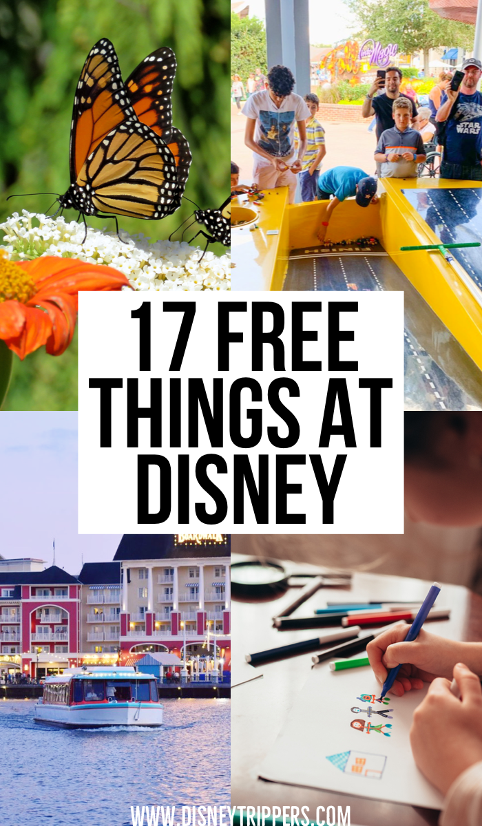 17 Totally Free Things To Do At Disney World | how to do Disney on a budget | cheap things to do at Disney world | how to do Disney for cheap | affordable Disney travel tips | free Disney tips | how to plan your Disney vacation on a budget | tips for planning a trip to Disney World | Disney world travel tips on a budget | best things to do at Disney for free #disney