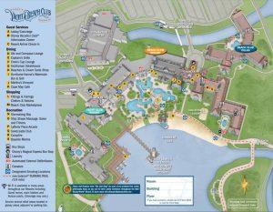 official Disney Boardwalk map