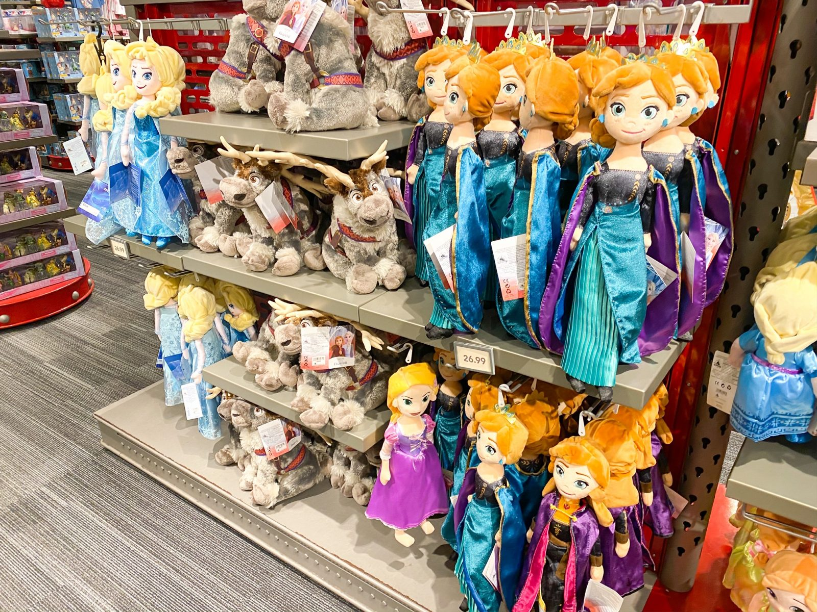 Disney Souvenirs Princess Dolls