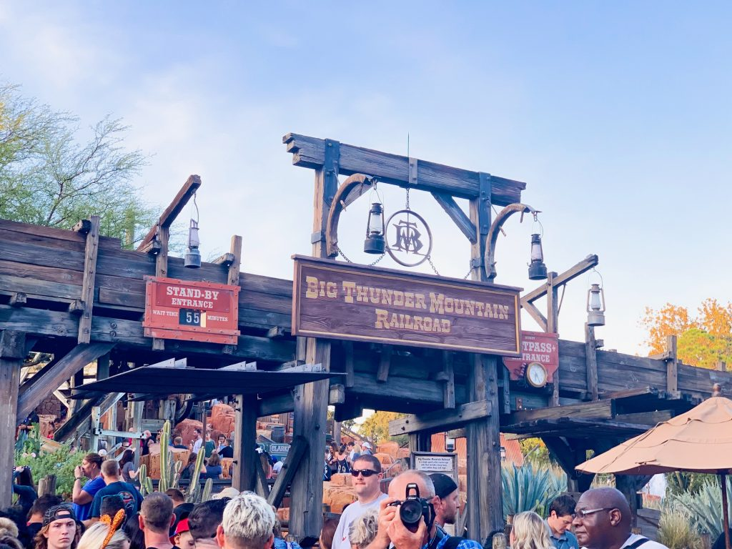 Photo of Big Thunder Railroad, one of the best Disney World FastPass selections!