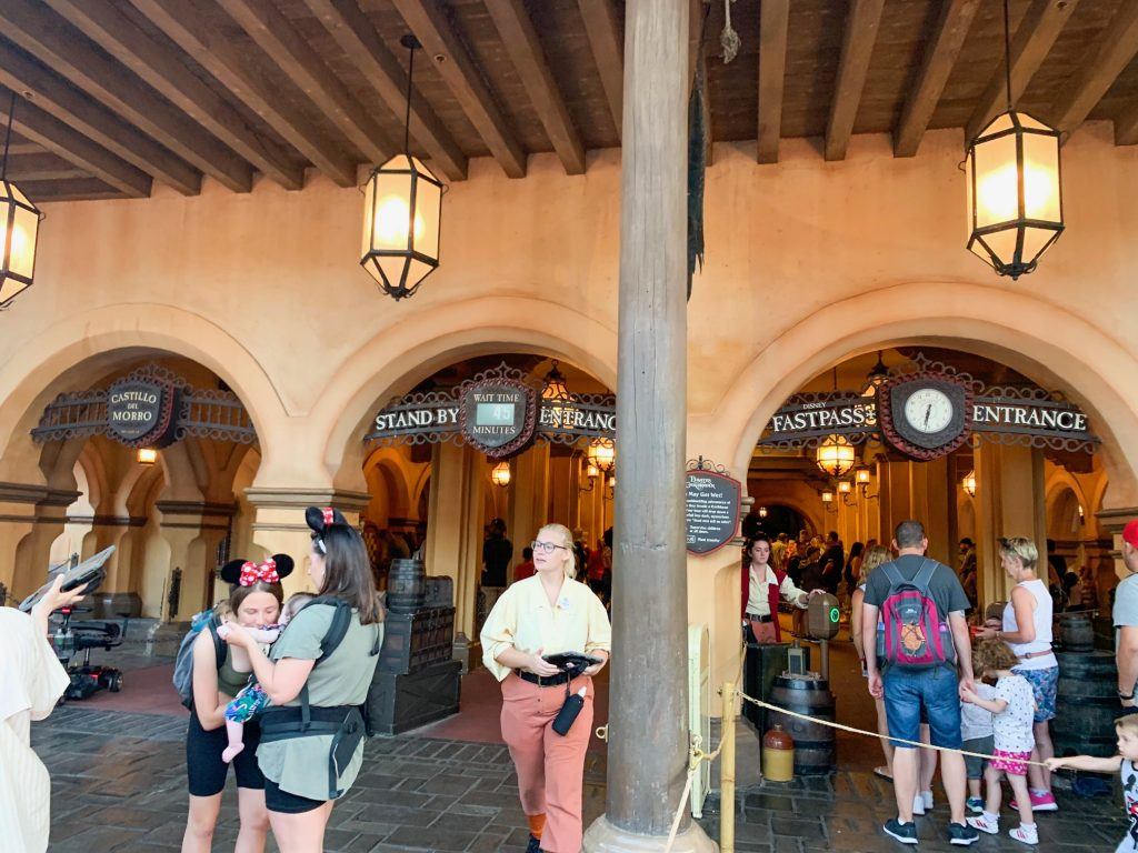 Photo of Pirates of the Caribbean, one of the best Disney World FastPass selections!