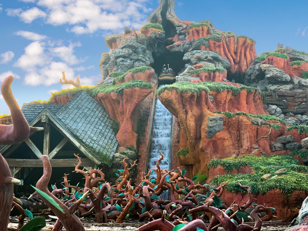 Photo of Splash Mountain, one of the best Disney World FastPass selections!