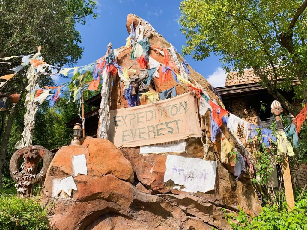 Photo of Expedition Everest, one of the best Disney World FastPass selections!