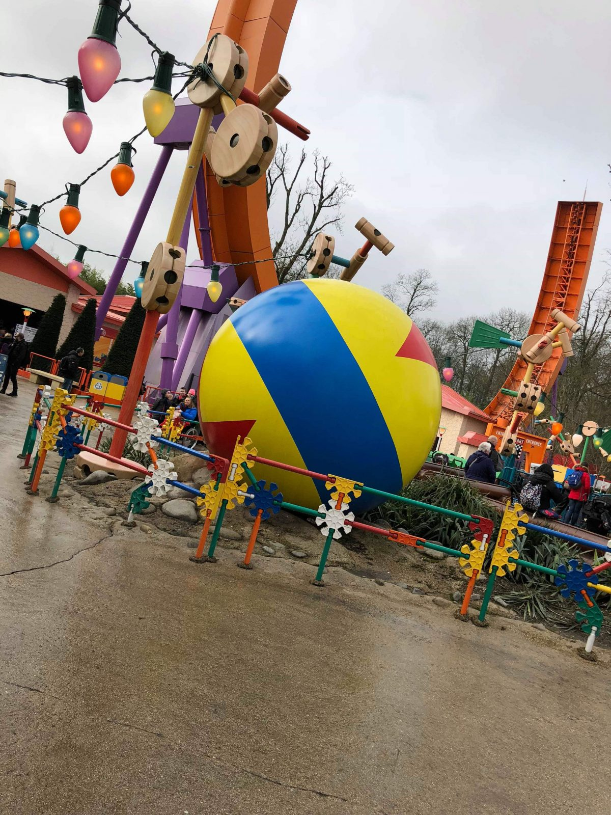 The RC Racer in Toy Story Land at Disneyland Paris