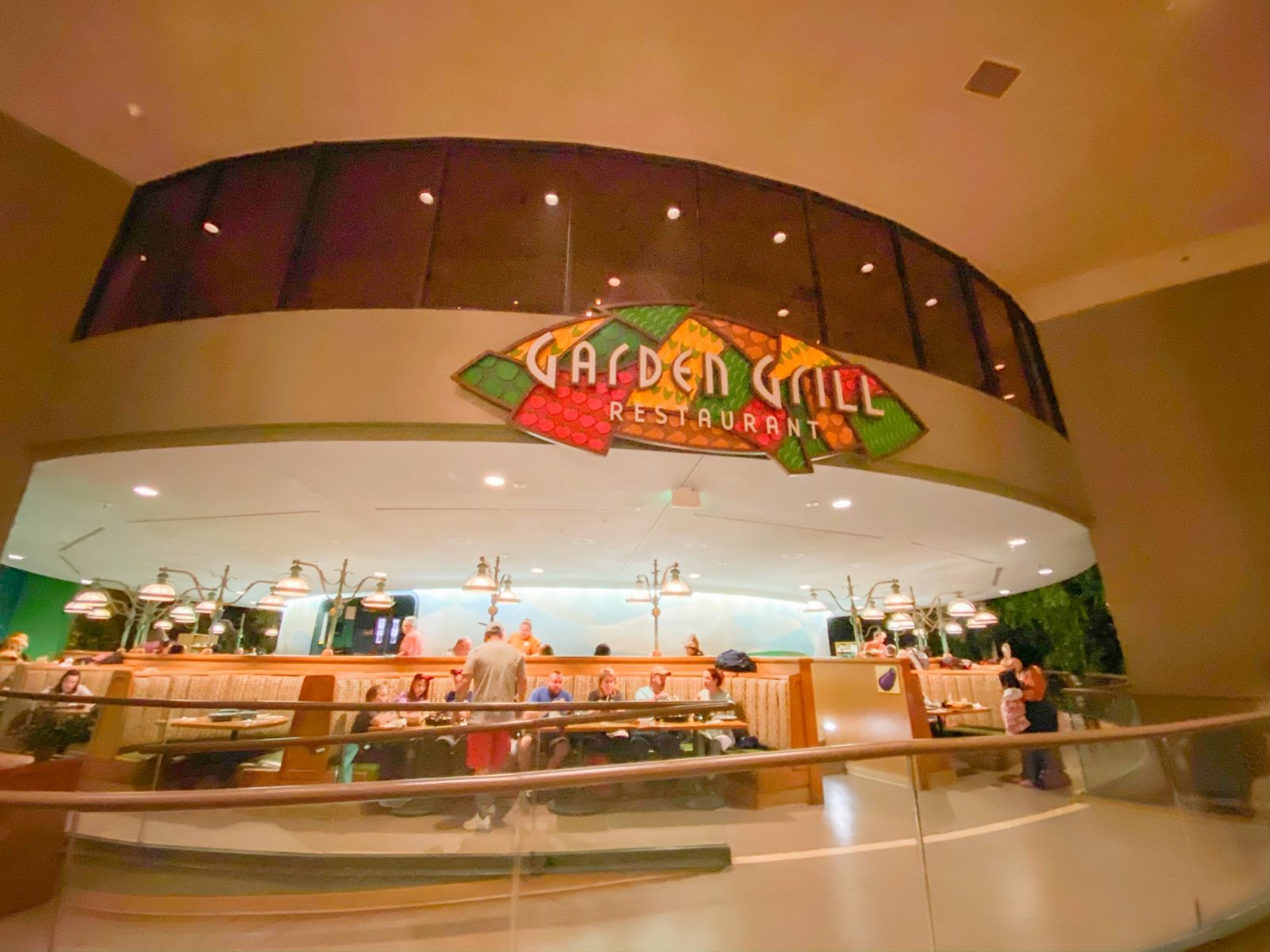 exterior view of Garden Grill restaurant at Epcot