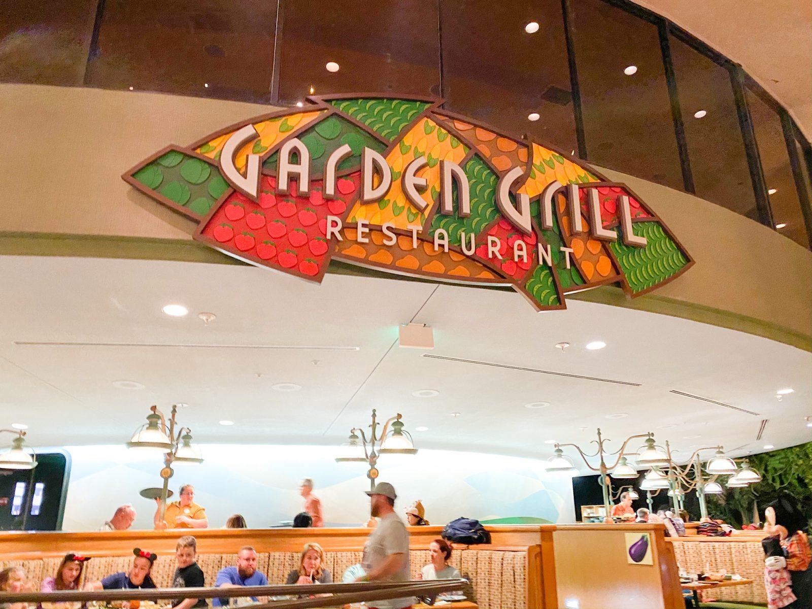 Garden Grill Restaurant Sign
